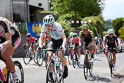 Lizzy Banks (GBR) climbs the final GPM during Stage 10 of 2019 Giro Rosa Iccrea, a 120 km road race from San Vito al Tagliamento to Udine, Italy on July 14, 2019. Photo by Sean Robinson/velofocus.com
