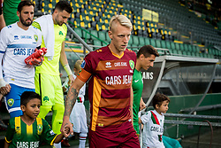 Lex Immers of ADO Den Haag during the Pre-season Friendly match between ADO Den Haag and Panathinaikos at the Cars Jeans Stadium on July 28, 2018 in The Hague, The Netherlands