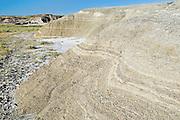badland formations<br /> Avonlea<br /> Saskatchewan<br /> Canada