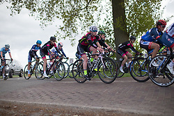 Alice Sharpe (GBR) of NCC Group-Kuota-Torelli during the second lap of the Omloop van Borsele - a 107.1 km road race, starting and finishing in s'-Heerenhoek on April 22, 2017, in Borsele, the Netherlands.
