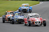 #54 Andrew Ebdon Caterham Tracksport during the Avon Tyres Caterham Tracksport Championship at Oulton Park, Little Budworth, Cheshire, United Kingdom. August 13 2016. World Copyright Peter Taylor/PSP.