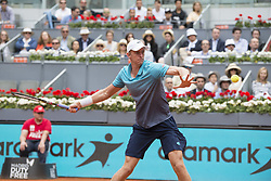 May 12, 2018 - Madrid, Madrid, Spain - KEVIN ANDERSON in a match against DOMINIC THIEM during the semi finals of Mutua Madrid Open 2018 - ATP in Madrid. DOMINIC THIEM won the match 6-4 6-2. (Credit Image: © Patricia Rodrigues via ZUMA Wire)