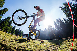 Downhill competition Sorca 2016 at Smucarski center Soriska Planina, Slovenia. Photo by Grega Valancic / Sportida