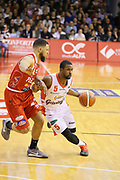 Needham Derek<br /> Grissin Bon Reggio Emilia - The Flexx Pistoia<br /> Lega Basket Serie A 2016/2017<br /> Reggio Emilia 30/04/2017<br /> Foto Ciamillo-Castoria