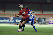 Robbie McCourt, West Bromwich Albion defender during the Barclays U21 Premier League match between Brighton U21 and U21 West Bromwich Albion at the Checkatrade.com Stadium, Crawley, England on 25 January 2016.