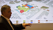 Houston ISD staff, students and architects participate in a design charrette for Austin High School, April 24, 2015.