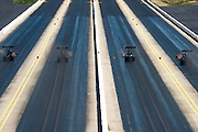 April 22-24, 2016: NHRA 4 Wide Nationals: NHRA top fuel dragsters race 4 wide