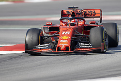 February 28, 2019 - Spain - Charles Leclerc (Scuderia Ferrari Mission Winnow) SF90 car, seen in action during the winter testing days at the Circuit de Catalunya in Montmelo  (Credit Image: © Fernando Pidal/SOPA Images via ZUMA Wire)