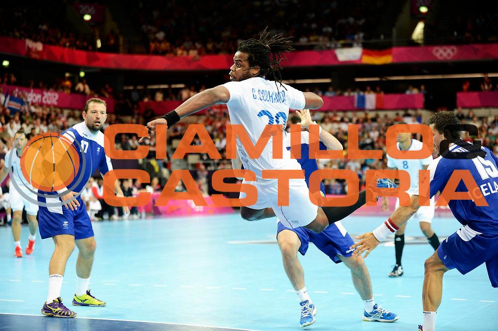 DESCRIZIONE : France Handball Jeux Olympiques Londres GIOCATORE : Sorhaindo Cedric FRA SQUADRA : France Homme DATA : 2012-08-06CATEGORIA : SPORT : HandBall AUTORE : AGENZIA CIAMILLO & CASTORIA/G.Ciamillo