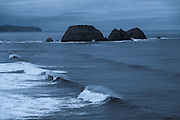 View of Three Arch Rocks from Cape Meares