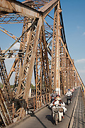 Gustave Eiffel's Long Bien Bridge (Vietnamese: C?u Long Biên) is a historic cantilever bridge across the Red River, built in 1903 Before Vietnam's independence in 1954, it was called Doumer Bridge,