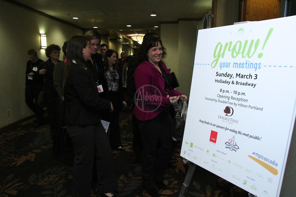 MPI Cascadia Educational Conference 2013 Opening Reception.