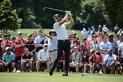 August 10, 2018 - Town And Country, Missouri, U.S - HENRIK STENSON from Sweden tees off from hole number three during round two of the 100th PGA Championship on Friday, August 10, 2018, held at Bellerive Country Club in Town and Country, MO (Photo credit Richard Ulreich / ZUMA Press) (Credit Image: © Richard Ulreich via ZUMA Wire)