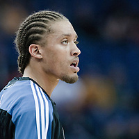 04 October 2010:  Minnesota Timberwolves forward Michael Beasley is seen prior to the Minnesota Timberwolves 111-92 victory over the Los Angeles Lakers, during 2010 NBA Europe Live, at the O2 Arena in London, England.