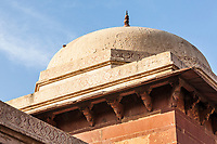 Architectural detail in Fatehpur Sikri, Uttar Pradesh, India.