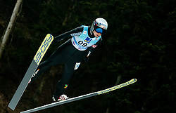 Maren Lundby of Norway competes during Team Competition at Day 2 of World Cup Ski Jumping Ladies Ljubno 2019, on February 9, 2019 in Ljubno ob Savinji, Slovenia. Photo by Matic Ritonja / Sportida
