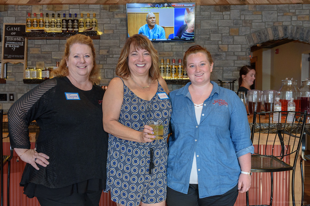 The Whisky Chicks Bring You the Next Generation of Distilling event Thursday, July 20, 2017, at the Jeptha Creed Distillery at 500 Gordon Lane in Shelbyville, Ky. (Photo by Brian Bohannon)