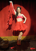 Burlesque<br /> at The Jermyn Street Theatre, London, Great Britain <br /> Press photocall <br /> 10th November 2011 <br /> <br /> Victoria Serra (as Amy Delamero)<br /> <br /> <br /> Photograph by Elliott Franks