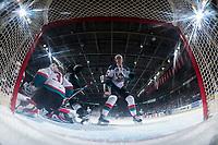 KELOWNA, CANADA - FEBRUARY 2:  Braydyn Chizen #22 checks a player of the Everett Silvertips on FEBRUARY 2, 2018 at Prospera Place in Kelowna, British Columbia, Canada.  (Photo by Marissa Baecker/Shoot the Breeze)  *** Local Caption ***