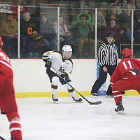 Men's Ice Hockey: St. Norbert College Green Knights vs. Milwaukee School of Engineering Raiders
