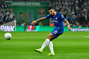Emerson Palmieri (33) of Chelsea during the Carabao Cup Final match between Chelsea and Manchester City at Wembley Stadium, London, England on 24 February 2019.