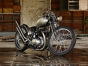 BSA Bobber photo by Aspen Photo and Design for Josh Alison