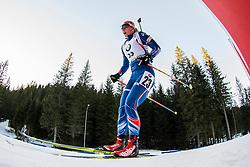 Lucie Charvatova (CZE) during Women 12.5 km Mass Start at day 4 of IBU Biathlon World Cup 2015/16 Pokljuka, on December 20, 2015 in Rudno polje, Pokljuka, Slovenia. Photo by Urban Urbanc / Sportida