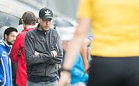 DEN BOSCH - HOCKEY -   Kampong coach Tim Oudenaller.   Landkampioenschap jeugd  tussen Pinoke JA1 -Kampong JA1 (2-1) . Pinoke kampioen. COPYRIGHT KOEN SUYK