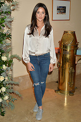 ROXIE NAFOUSI at a private view of the Beulah Winter Autumn Winter collection entitled 'Chrysalis' held at The South Kensington Club, London SW7 on 24th September 2015.
