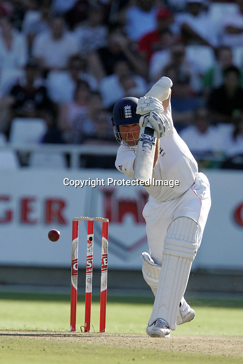 Graeme Swann during the 2nd day of the third test match between South Africa and England held at Newlands Cricket Ground in Cape Town on the 4th January 2010.Photo by: Ron Gaunt/ SPORTZPICS
