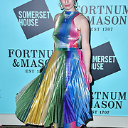 Kitty Joseph arrivers Skate at Somerset House with Fortnum & Mason Launch party, London, Somerset House, 12 November 2019, London, UK.