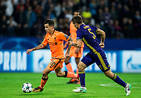 MARIBOR, SLOVENIA - OCTOBER 17: Philippe Coutinho of Liverpool FC vs Blaz Vrhovec of NK Maribor during UEFA Champions League 2017/18 group E match between NK Maribor and Liverpool FC at Stadium Ljudski vrt, on October 17, 2017 in Maribor, Slovenia. (Photo by Vid Ponikvar / Sportida)