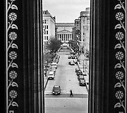 View from the National Portrait Gallery toward the National Archives. Washington, DC