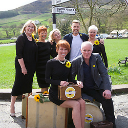 The Calendar Girls in Burnsall