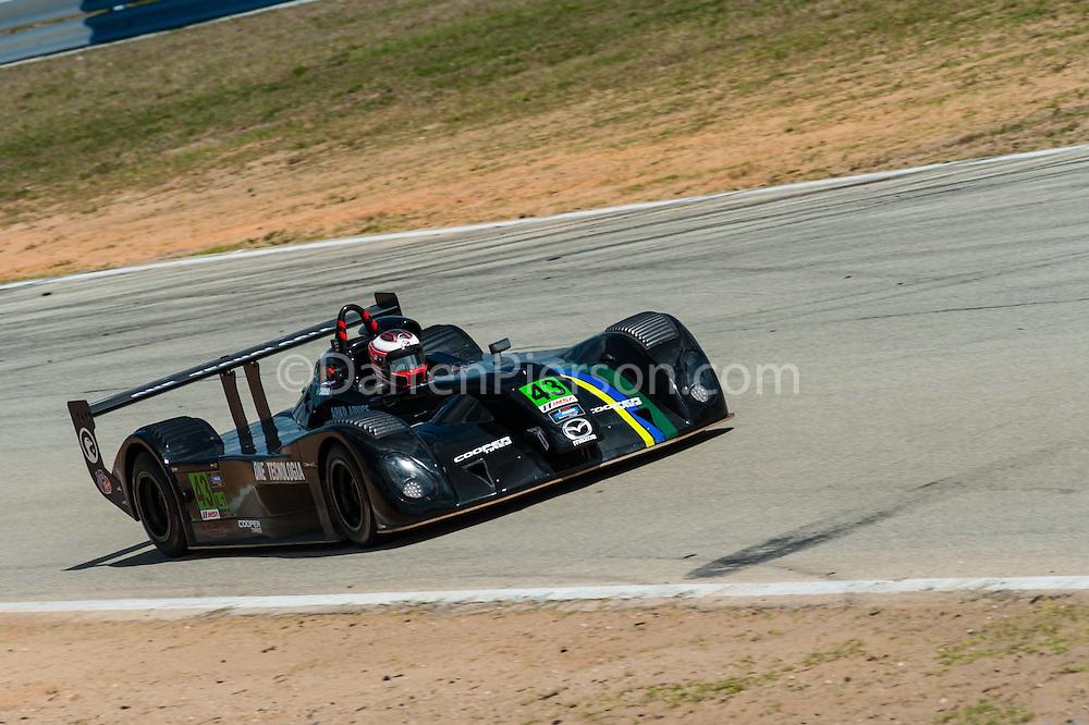 #43 Performance Tech Motorsports Elan DP-02: Pedro Cardoso