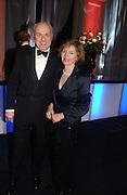 Mr. and Mrs. Iain Duncan Smith. The Black and White Winter Ball. Old Billingsgate. London. 8 February 2006. -DO NOT ARCHIVE-© Copyright Photograph by Dafydd Jones 66 Stockwell Park Rd. London SW9 0DA Tel 020 7733 0108 www.dafjones.com