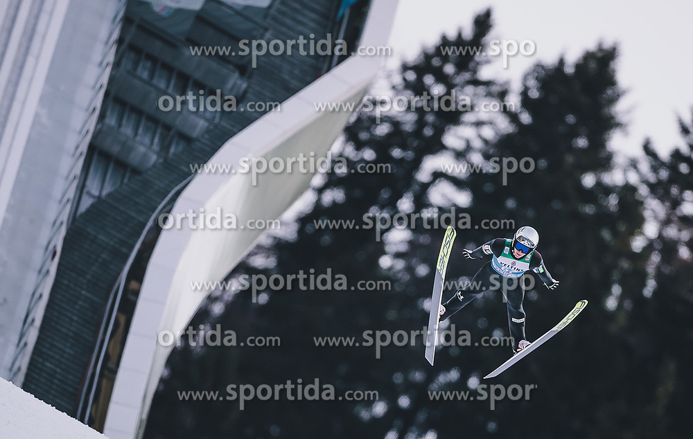31.12.2019, Olympiaschanze, Garmisch Partenkirchen, GER, FIS Weltcup Skisprung, Vierschanzentournee, Garmisch Partenkirchen, Qualifikation, im Bild Peter Prevc (SLO) // Peter Prevc of Slovenia during his qualification Jump for the Four Hills Tournament of FIS Ski Jumping World Cup at the Olympiaschanze in Garmisch Partenkirchen, Germany on 2019/12/31. EXPA Pictures © 2019, PhotoCredit: EXPA/ JFK