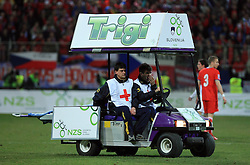 Car for First aid at the 8th day qualification game of 2010 FIFA WORLD CUP SOUTH AFRICA in Group 3 between Slovenia and Czech Republic at Stadion Ljudski vrt, on March 28, 2008, in Maribor, Slovenia. Slovenia vs Czech Republic 0 : 0. (Photo by Vid Ponikvar / Sportida)