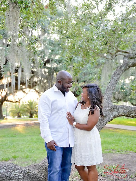 James & Nicole - Wedding Engagement Album City Park New Orleans 1216 Studio LLC Photography 2015