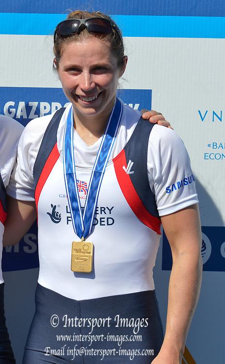 Sydney, Australia.  GBR LW2X. Bow Kathryn TWYMAN. World Cup I. and  Sydney International Rowing Regatta. Sydney International Rowing Centre, Penrith Lakes, NSW. Sunday   24/03/2013 [Mandatory Credit. Peter Spurrier/Intersport Images]..