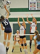 Midpark vs. Magnificat high school varsity volleyball at Strongsville High School on October 20, 2010. © David Richard