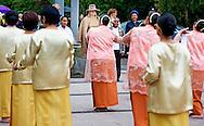Alphen aan den Rijn  - Queen Máxima is Thursday, September 17th at the jubilee of the Moluccan community in Alphen aan den Rijn Koningin Máxima is donderdag 17 september bij de jubileumviering van de Molukse gemeenschap in Alphen aan den Rijn COPYRIGHT ROBIN UTRECHT