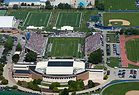 AErial view of Univ of Delaware vs delaware State football game in Newark on September 19. 2009.