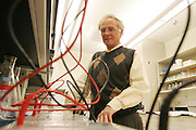 Dr. Richard Wallace,in his lab at the University of Texas Health Science Center at Tyler Dr. Wallace has been doing research for 33 years on Nocardia.<br /> A Nocardia strain has been named after him (Nocardia wallacei) by the National Institute of Health and Center for Disease Control scientists. Photo: JAime R. Carrero/Tyler Morning Telegraph