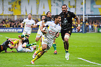 Wesley FOFANA - 04.04.2015 - Clermont / Northampton - 1/4Finale European Champions Cup<br />