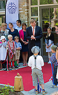 Baarn, 21-05-2015 <br /> <br /> King WIllem-Alexander opened the New Baarn School<br /> <br /> Photo:Royalportraits Europe/Bernard Ruebsamen