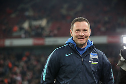 26.02.2016, Rhein Energie Stadion, Koeln, GER, 1. FBL, 1. FC Koeln vs Hertha BSC, 23. Runde, im Bild vl. Pal Dardai (Berlin, Trainer, Coach, Cheftrainer, #PD) // during the German Bundesliga 23th round match between 1. FC Cologne and Hertha BSC at the Rhein Energie Stadion in Koeln, Germany on 2016/02/26. EXPA Pictures © 2016, PhotoCredit: EXPA/ Eibner-Pressefoto/ Horn<br /> <br /> *****ATTENTION - OUT of GER*****