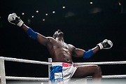 Patrice Quarteron during the Muay Thai, Thai Boxing fight between Patrice Quarteron and Sean Tolouee on December 14, 2017 at AccorHotels Arena in Paris, France - Photo Pierre Charlier / ProSportsImages / DPPI