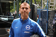 Brighton midfielder Steve Sidwell (36)  during the Sky Bet Championship play-off first leg match between Sheffield Wednesday and Brighton and Hove Albion at Hillsborough, Sheffield, England on 13 May 2016. Photo by Simon Davies.