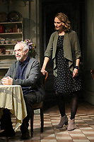 Jonathan Pryce, Anna Madeley, The Height of The Storm - Photocall, Wyndham's Theatre, London, UK, 04 October 2018, Photo by Richard Goldschmidt